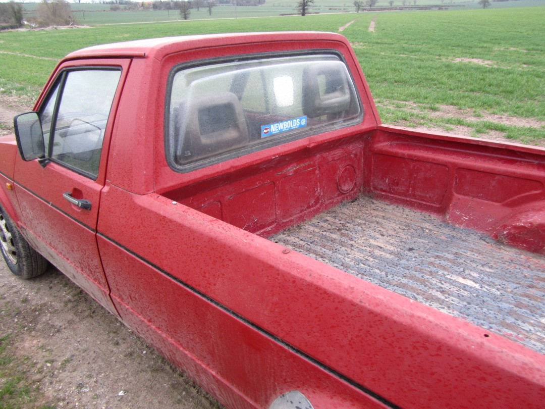 Vw Caddy Mk 1 Pickup The Farming Forum