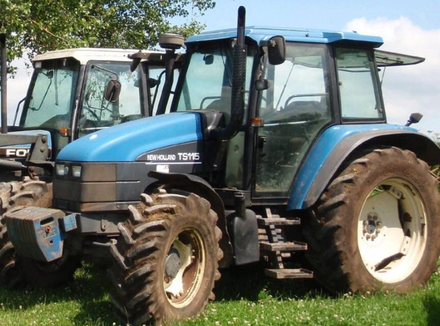 New Holland TS115 views | The Farming Forum