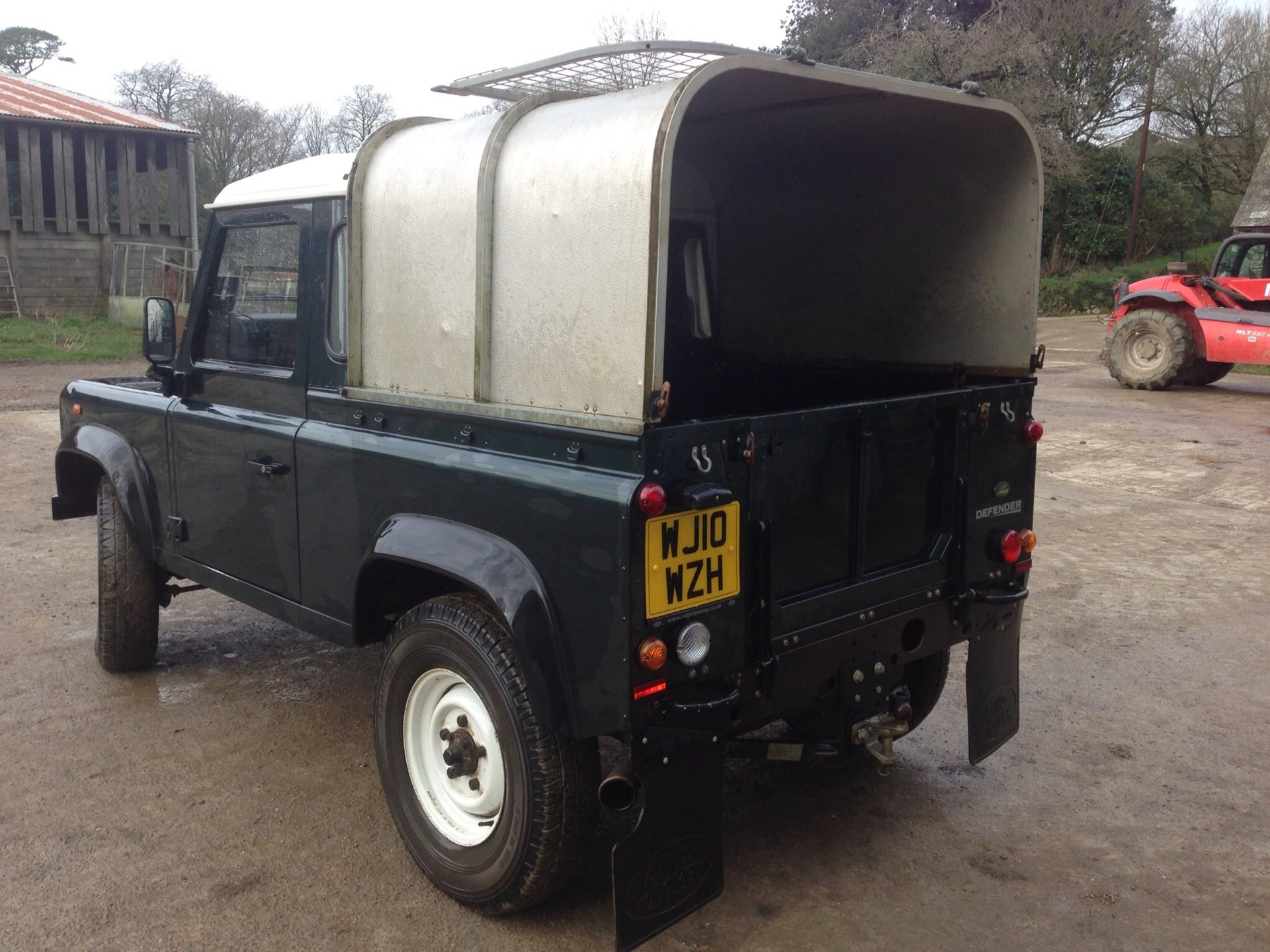 2010 Land Rover Defender 90 Pick Up The Farming Forum