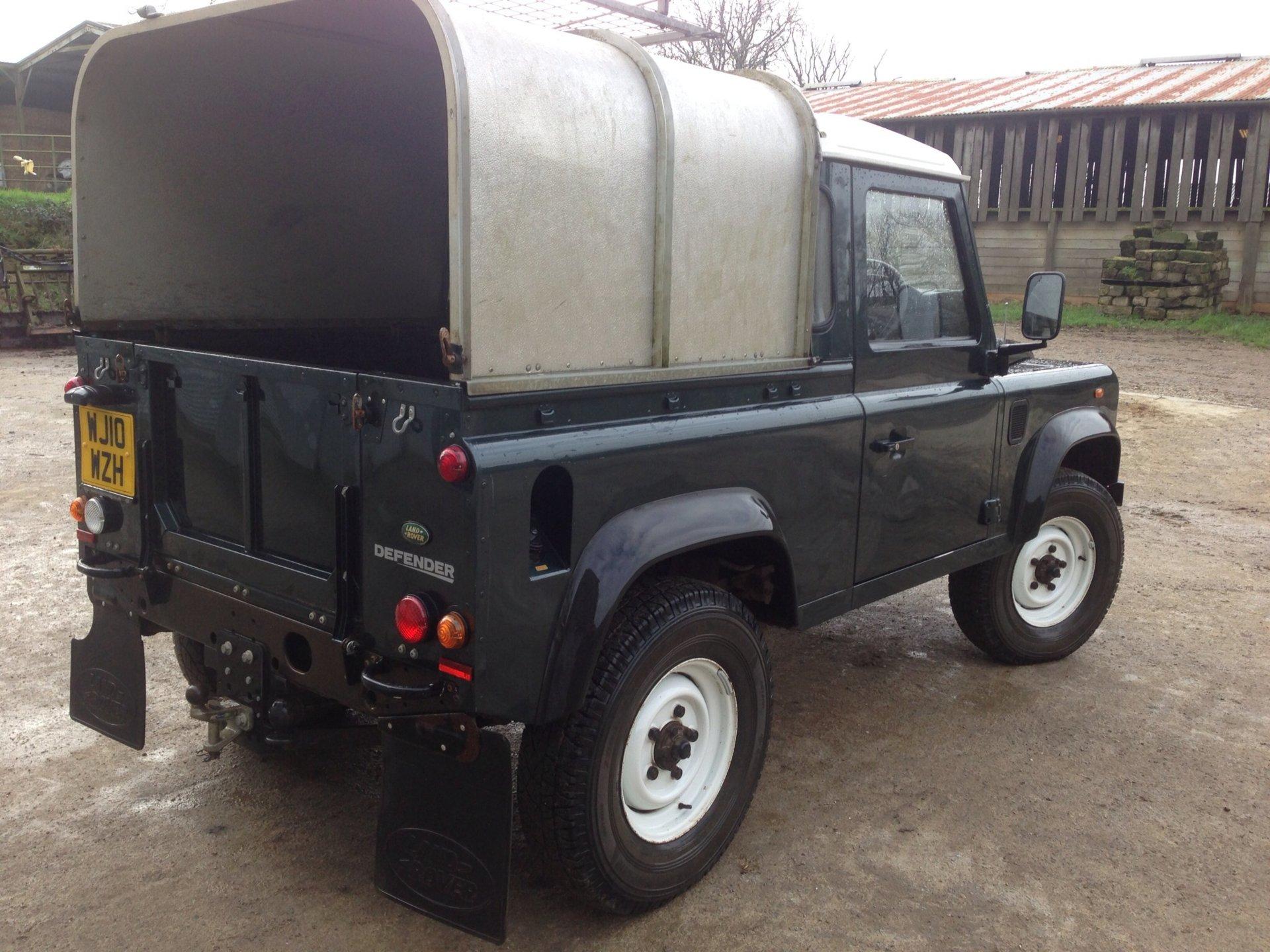 2010 land rover defender 90 pick up the farming forum. Black Bedroom Furniture Sets. Home Design Ideas
