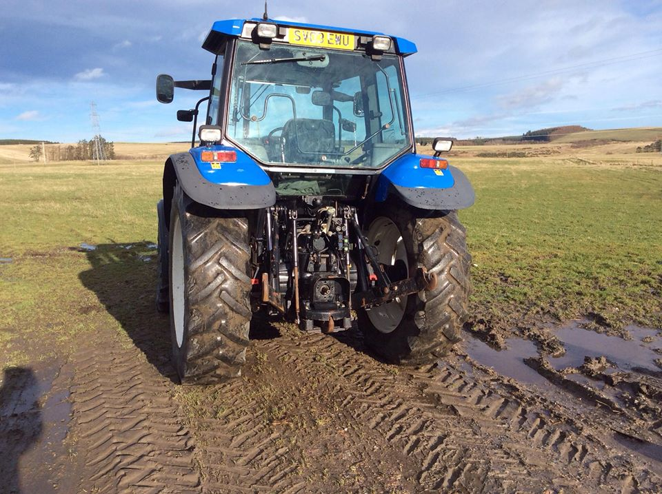 New Holland TS110 & Quicke 940 loader | The Farming Forum