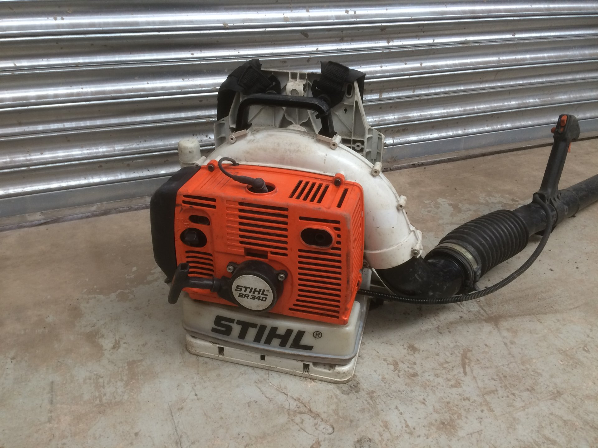 Stihl BR340 backpack blower | The Farming Forum