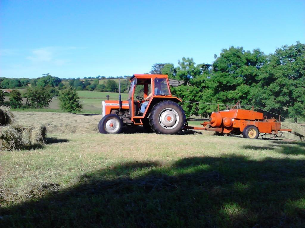 Massey 124 baler | The Farming Forum