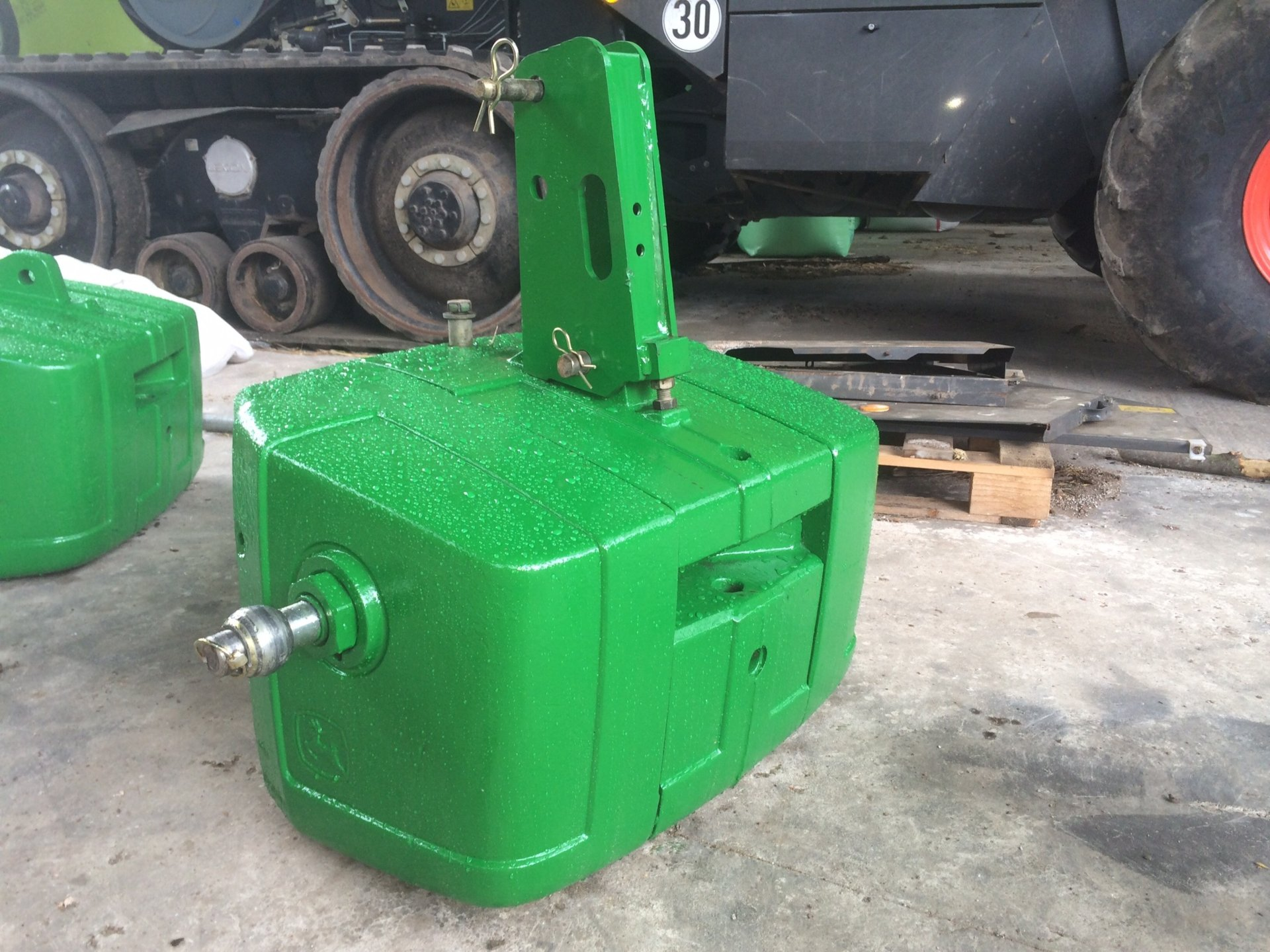 John Deere Block : John deere big pack weight block the farming forum
