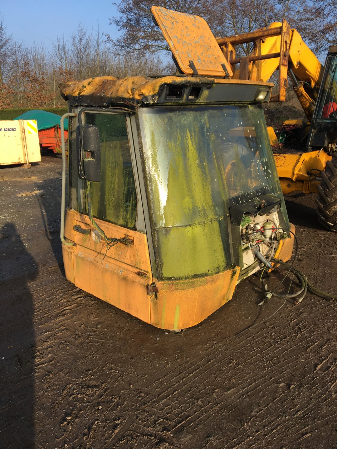 Jcb Fastrac 145 Cab And Other Parts