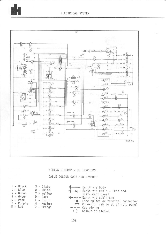 case-ih 885xl: anyone got a wiring diagram? | the farming forum  the farming forum