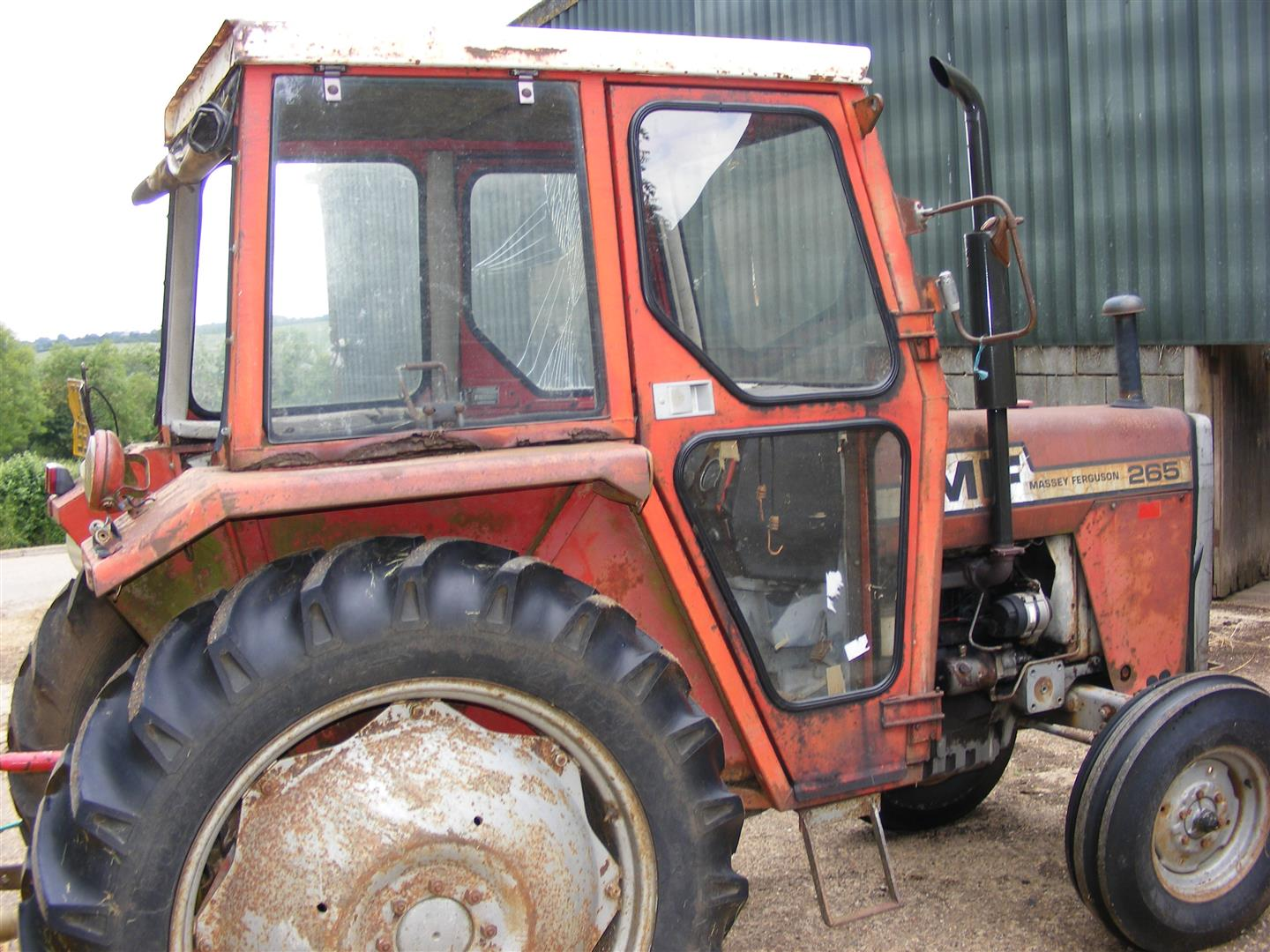 mcconnel rhino topper, mf265 | The Farming Forum