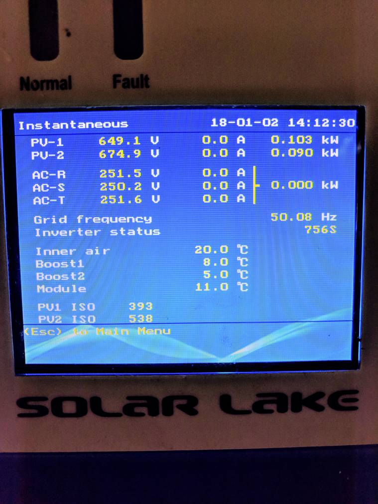 Is my grid voltage too high? | The Farming Forum