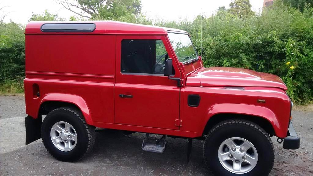 Land Rover Defender 90 County Pack Only 3780 Miles The