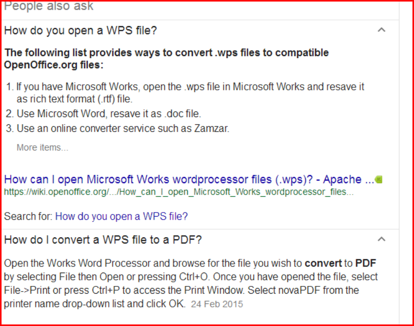 how to open a wps file
