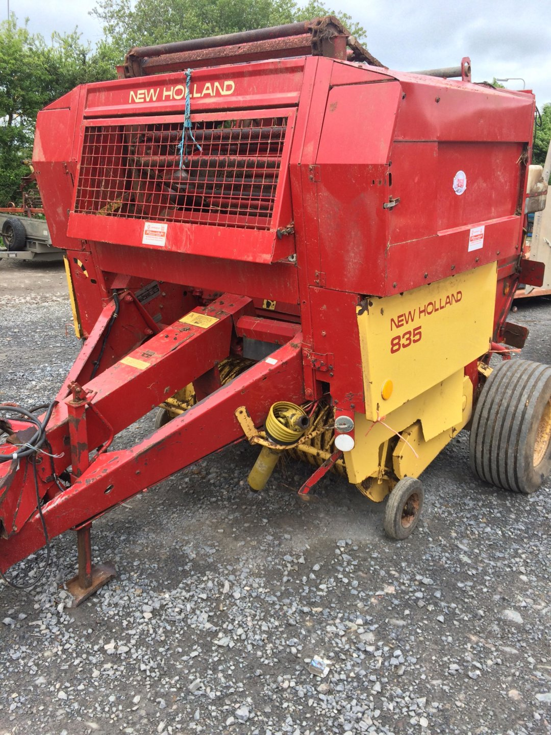 New holland 835 round baler | The Farming Forum