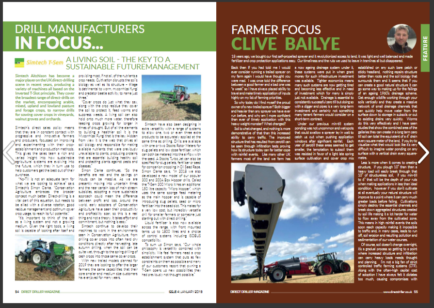 Farmer Focus - Clive Bailye - Going Trailed