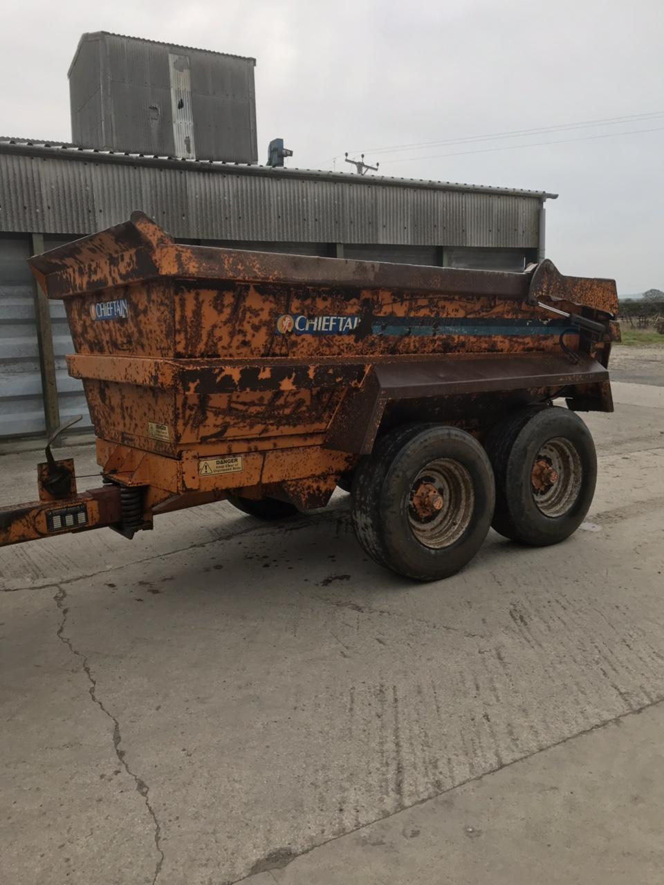 Chieftain 14ton dump trailer | The Farming Forum