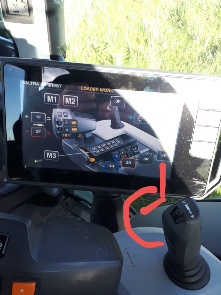 Valtra Smarttouch joystick | The Farming Forum