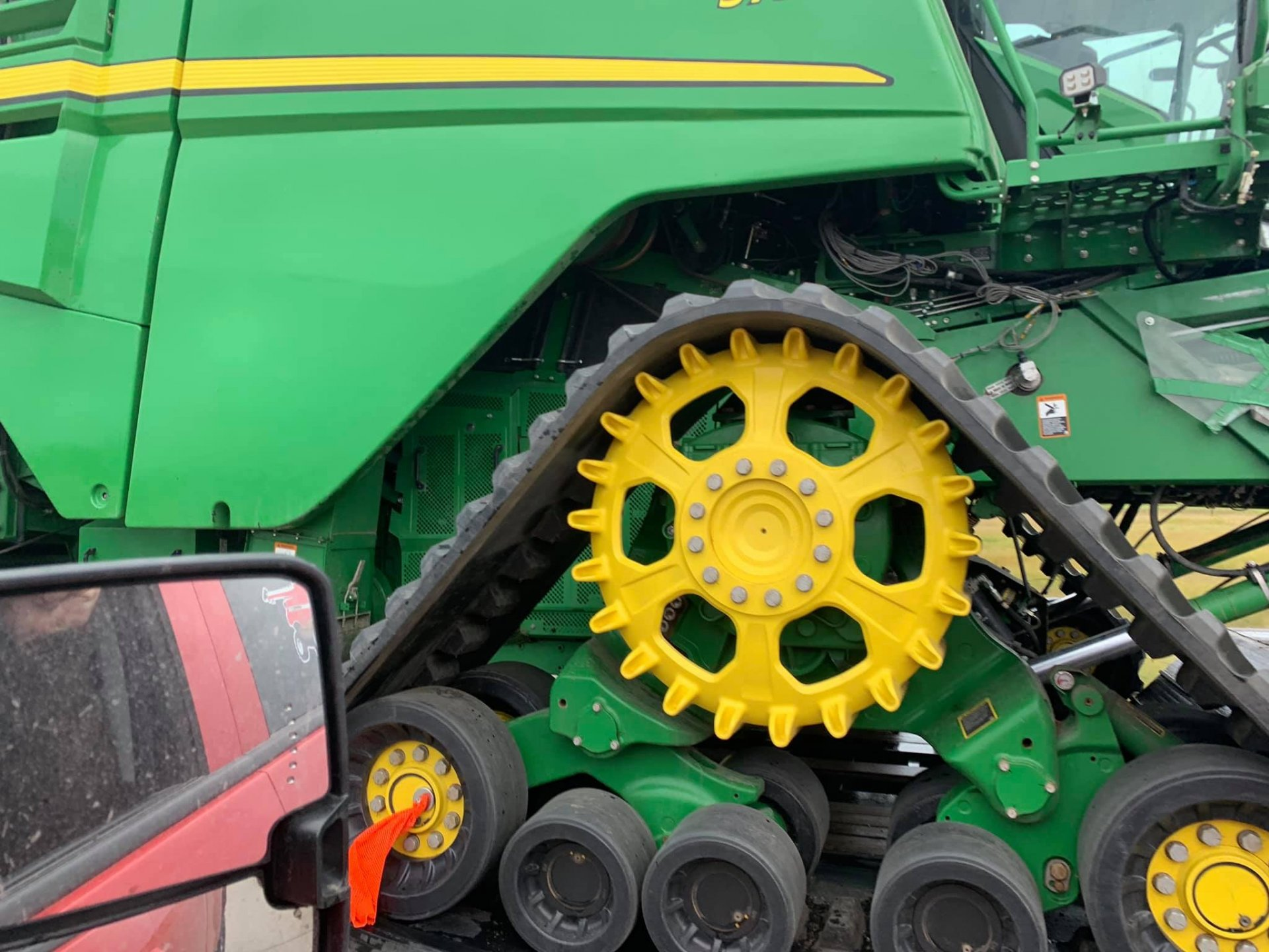 New John deere Combine seen in states | The Farming Forum