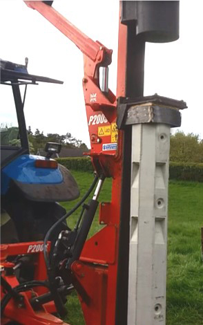 Ox Strain Mechnically Driving Posts Moore Concrete 2.jpg