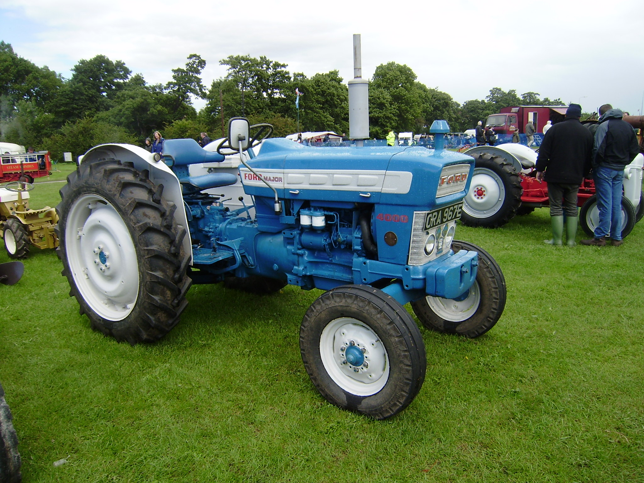 escort 4wd tractor